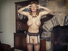 big boobs, vintage, stockings